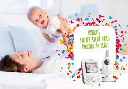 Osvojite Philips Avent video monitor