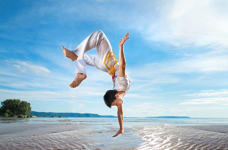 capoeira razvija osjećaj za prostor i poboljšava periferni vid