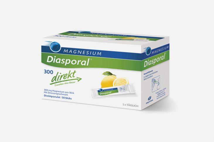 Diasporal tablete