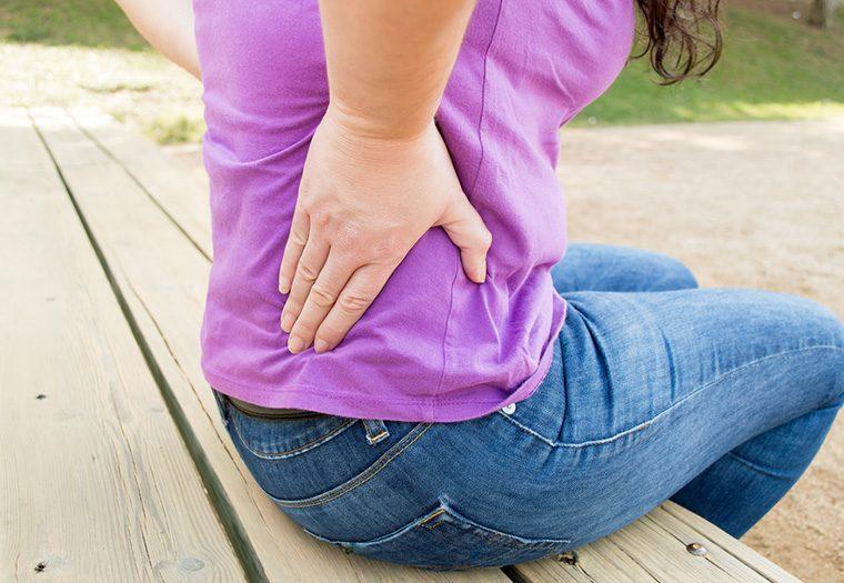 Za snažne bolove u leđima često su krive ozljede diskova