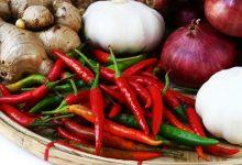 luk, češnjak, đumbir, namirnice, ljute namirnice za zdravlje