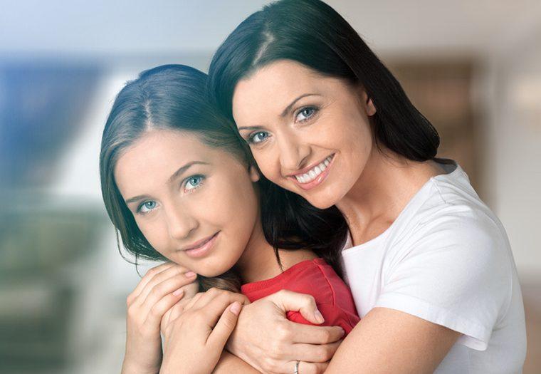 menstruacija, djevojčica, žena, kćer, majka
