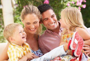 obitelj, dijete, djeca, smijeh, sreća