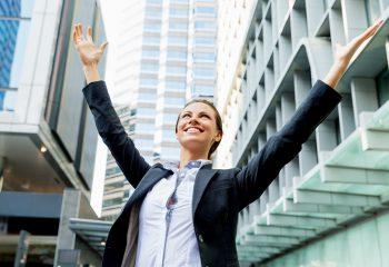 poslovna žena, uspjeh