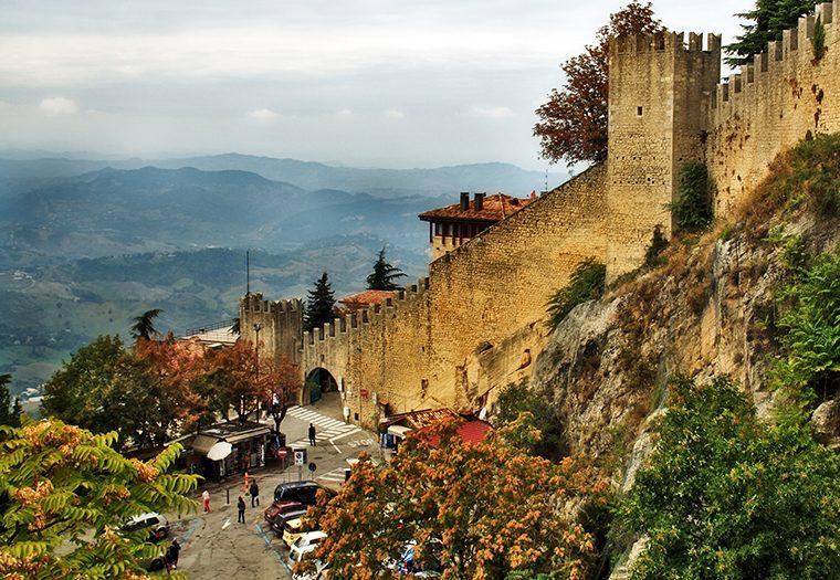 treća najmanja država Europe je San Marino