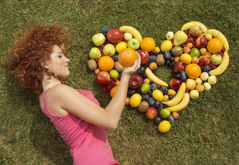 srce, prehrana, voće, povrće