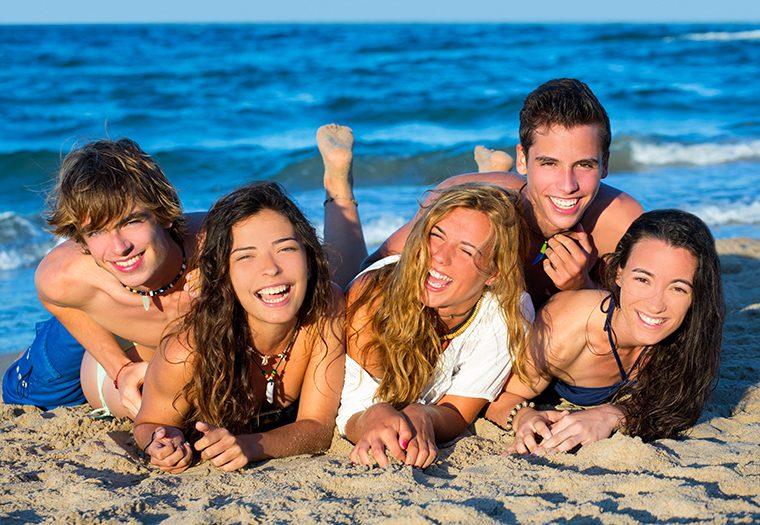 tinejdžeri, godišnji odmor