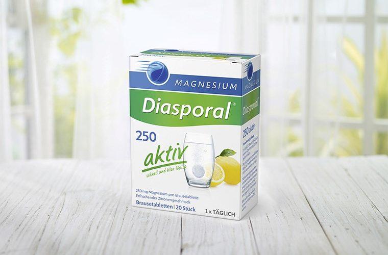 Osjećajte se bolje uz Magnesium-Diasporal® 250 Aktiv