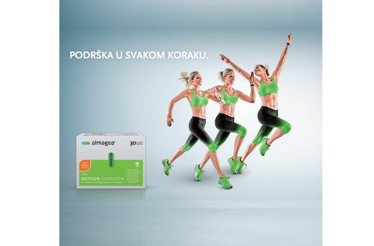 Almagea, Motion Support, zdravlje kostiju, mišići