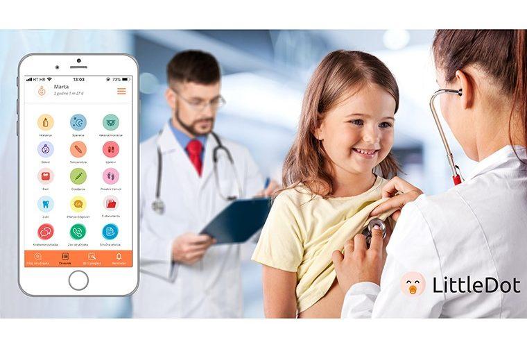 LittleDot aplikacija, djeca, dječje zdravlje, dnevnik rasta i razvoja djeteta