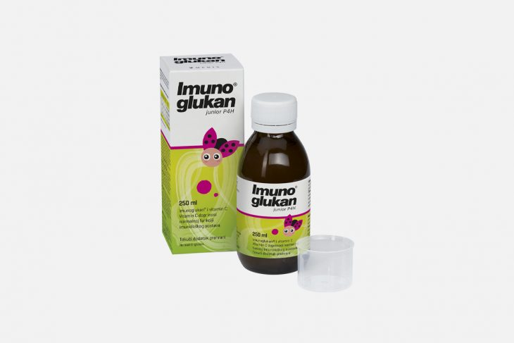 Imunoglukan P4h junior250ml