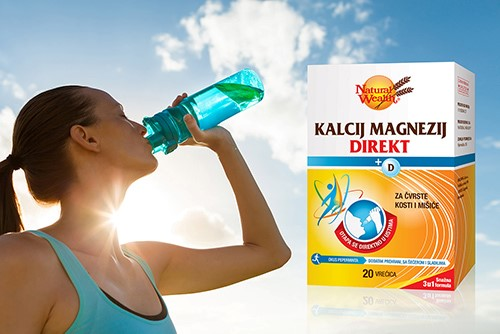 Natural Wealth®Kalcij Magnezij Direkt