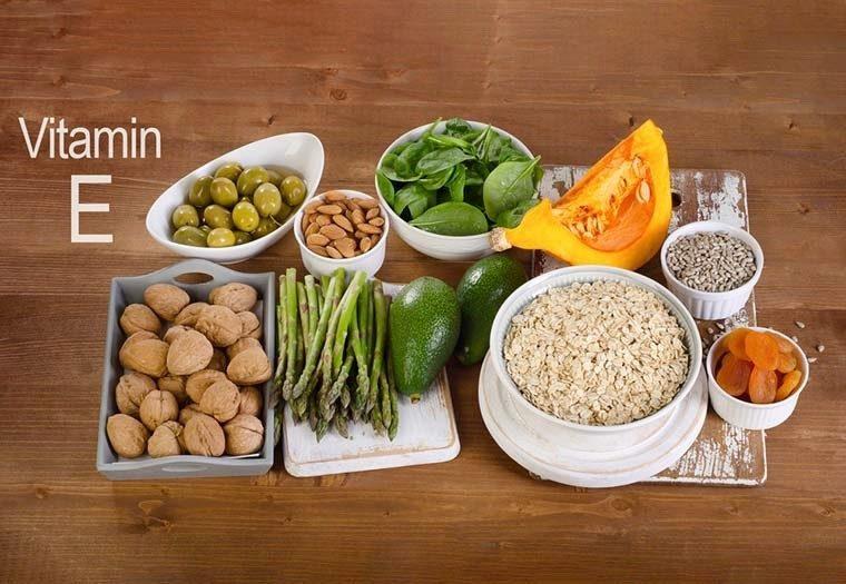 Vitamin E nutrijent