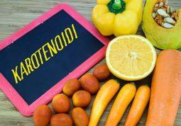 karotenoidi - skupina biljnih pigmenata važnih za zdravlje