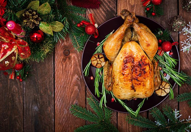 blagdanski obrok - purica ili patka