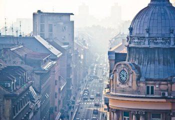 onečišćenje zraka u Zagrebu - zagađeni zrak opasan za djecu i starije