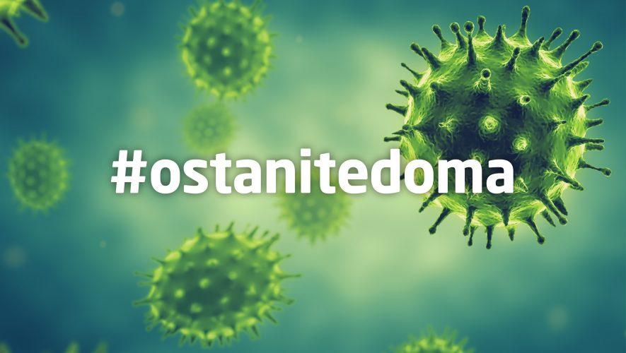 socijalno distanciranje koronavirus ostanite doma