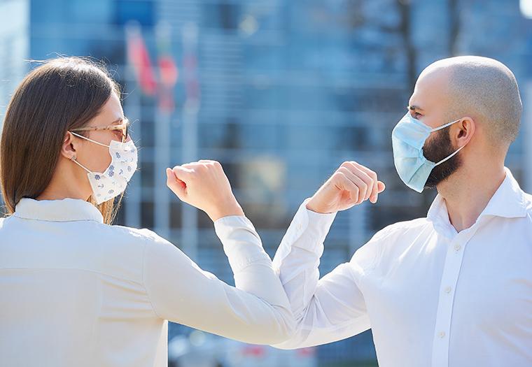 covid-19 pandemija koronavirusa navike drustveno distanciranje
