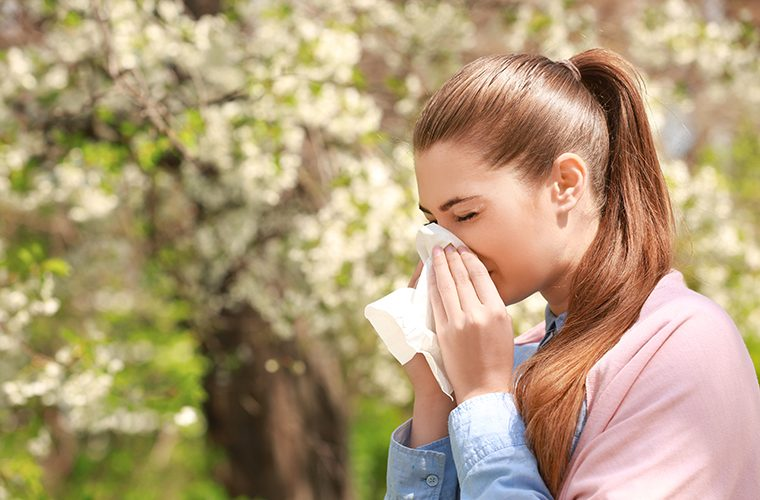 alergije zastitne maske pelud