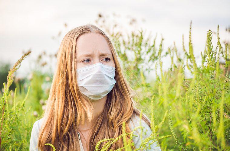 ambrozija alergije zastitne maske
