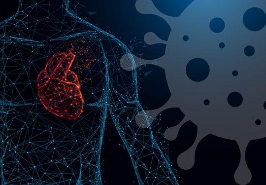 COVID-19 srce koronavirus ostecenja na srcu infarkt srcane tegobe