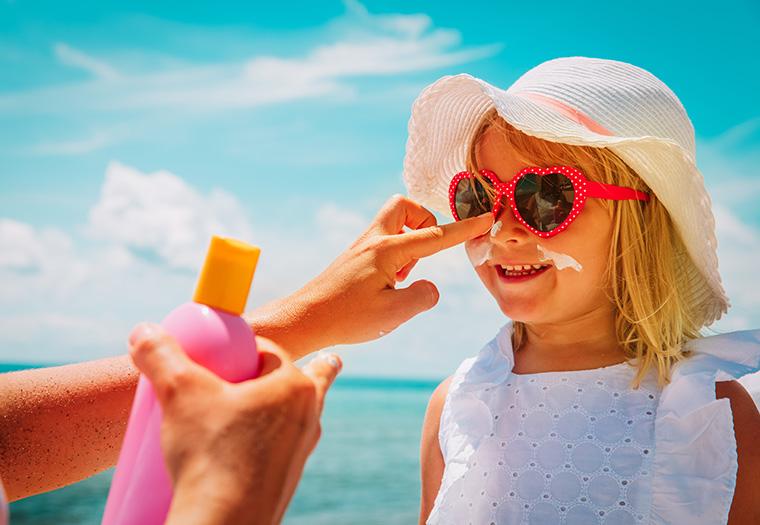 djecja koza sunce zastita koze UV zracenje maligni melanom