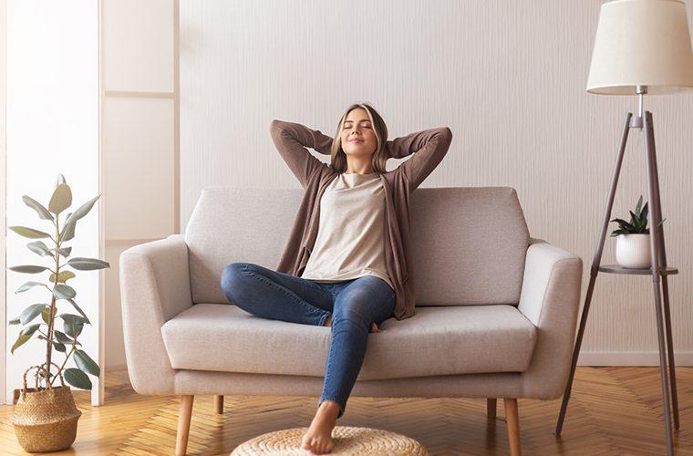 zdrav dom uredenje doma odmor opustanje u domu