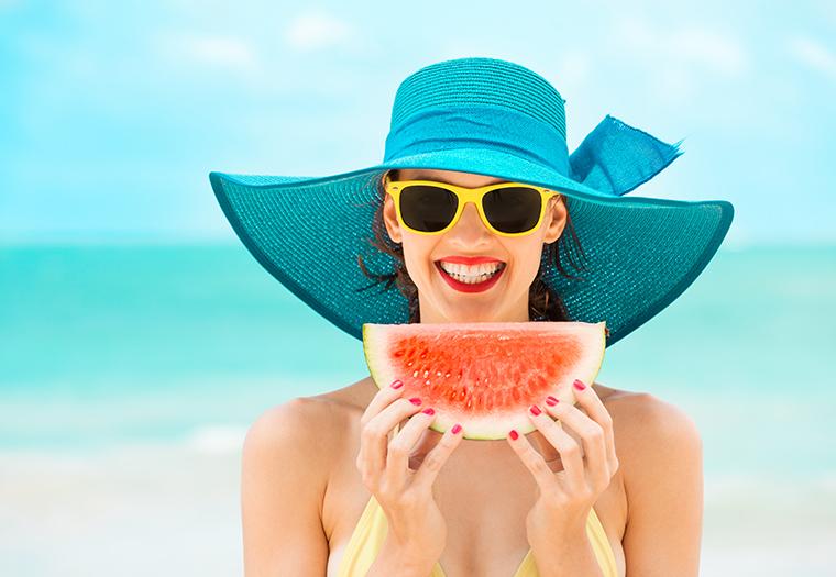 koza hrana za suncanje zdravlje koze hrana koja stiti od sunca vitamin D UV zracenje sunce