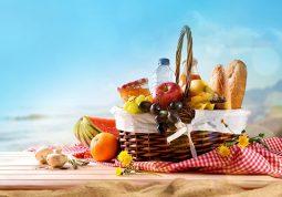 sto jesti na plazi sendvici tortilje salate