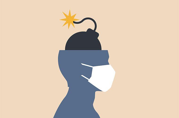 kronicni stres krizni umor samopomc pandemija koronavirus