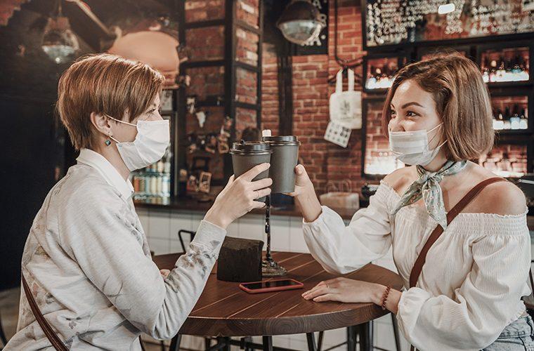 stozer maske u zatvorenim prostorima