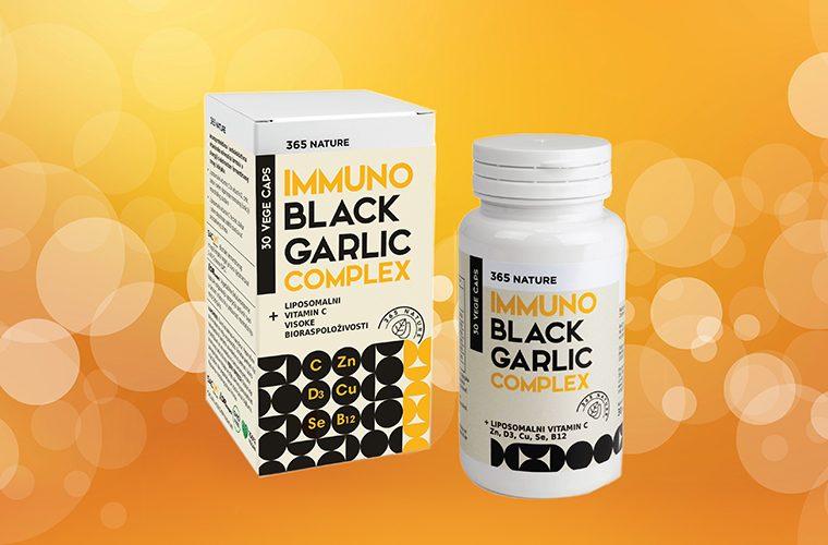 Immuno Black Garlic Complex snazan imunitet