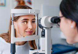oftalmoloski pregled crne tockice pred ocima