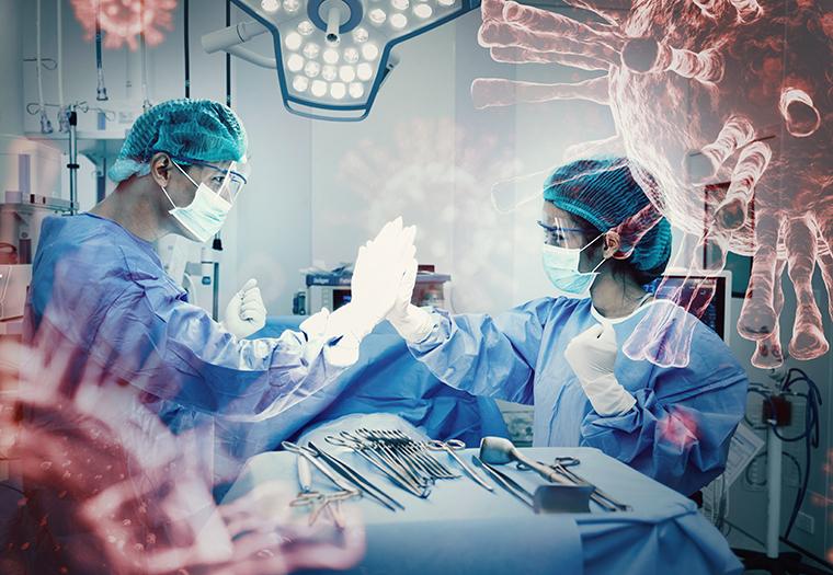 operacija mozga COVID pozitivna pacijentica KB Dubrava