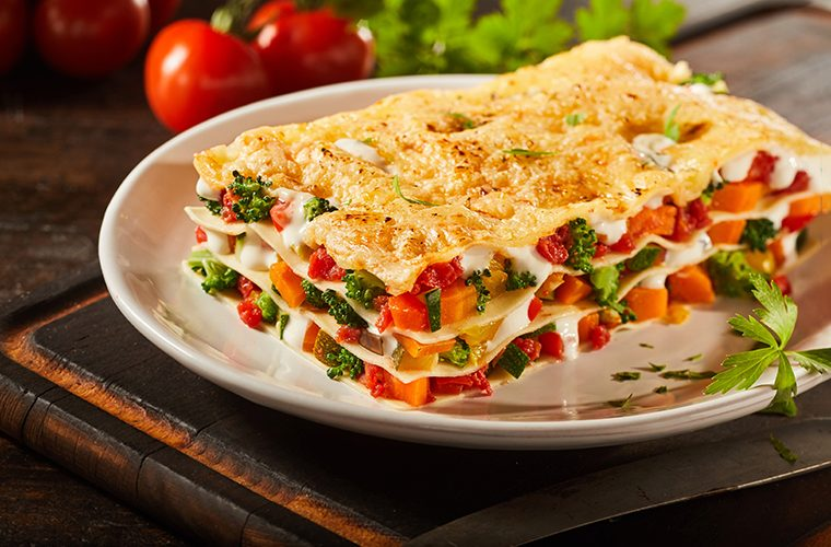 recepti vegetarijanske lazanje s povrcem i sirom