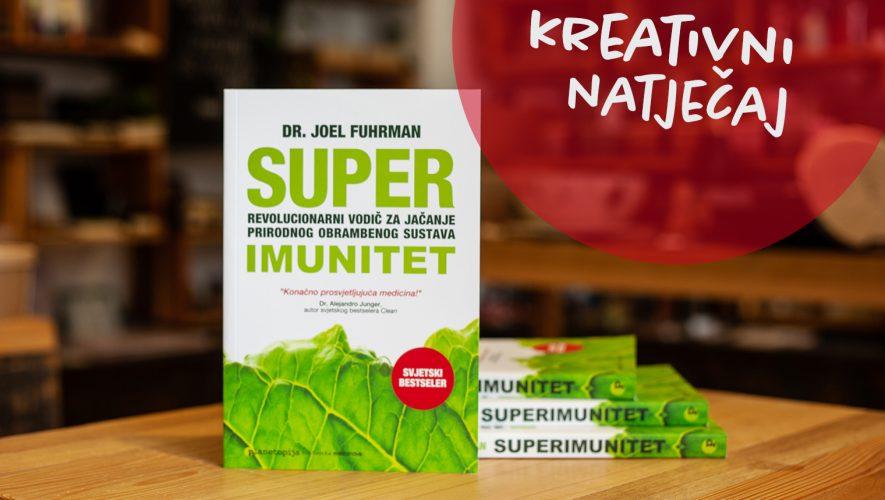 Planetopija nagradni natjecaj knjiga Superimunitet dr. Joel Fuhrman