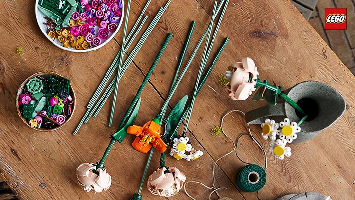 Lego - Flower Bouquet za odrasle