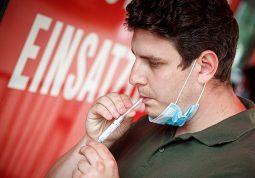 Bec pilot-projekt testiranje grgljanjem koronavirus kod kuce