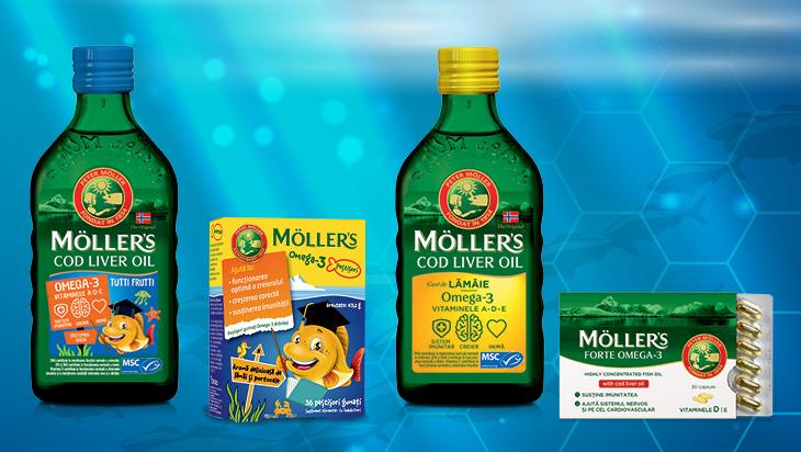 ulja jetre bakalara Möller's omega 3 masne kiseline dodatak prehrani2