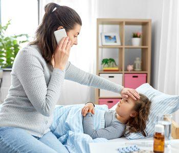 simptomi zbog kojih bolesno dijete hitno treba lijecnicku pomoc
