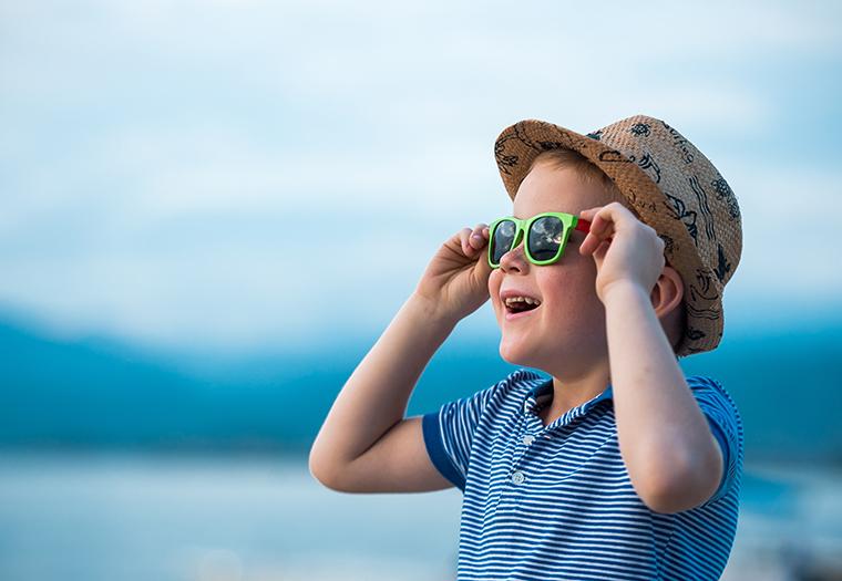 sunčane naočale za djecu UV zračenje