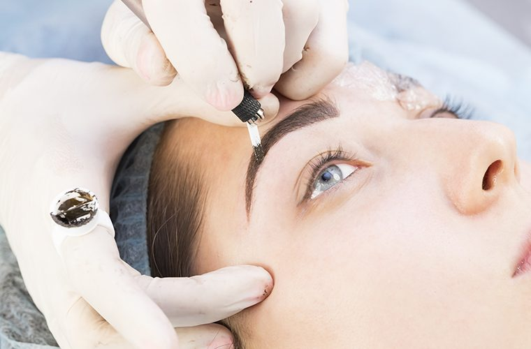 gubitak kose i obrva kemoterapija kozmetički tretmani iscrtavanje obrva