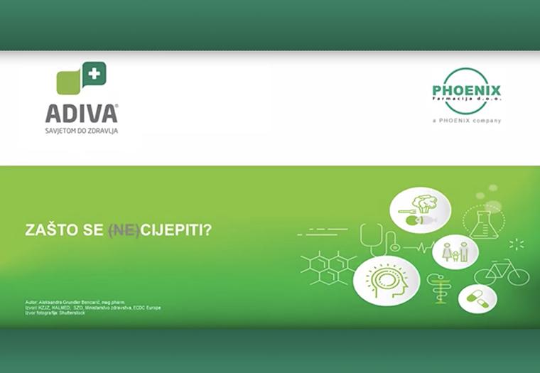 koronavirus COVID-19 cjepivo cijepljenje ADIVA video