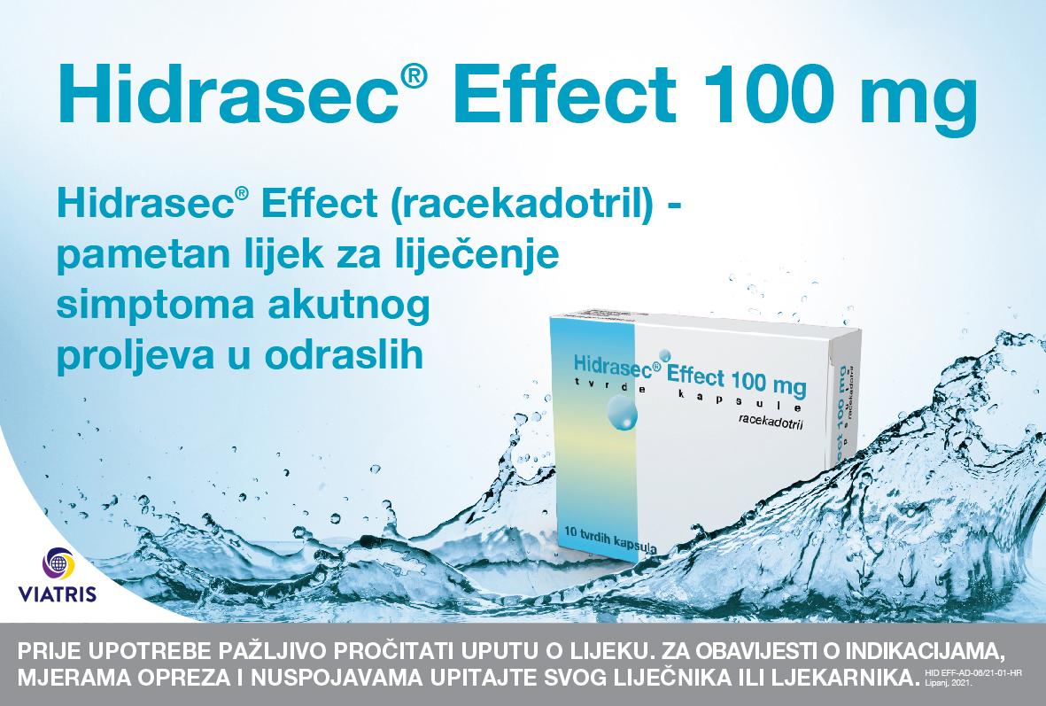 proljev dehidracija Hidrasec® Effect