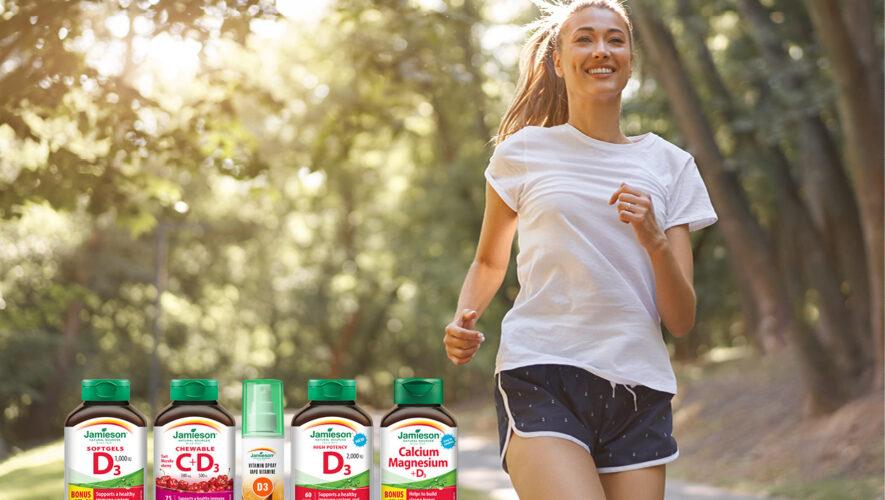 Jamieson vitamin D kosti zdravlje imunitet