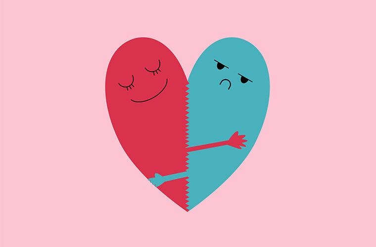 ljubav odnosi partner asimetrična veza