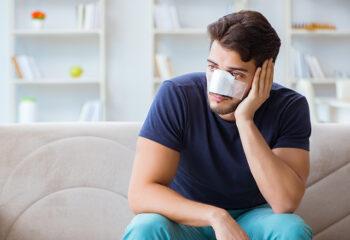 prijelomi nosa slomljen nos lom nosa fraktura nosa ozljede