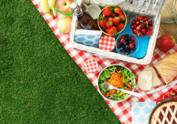 piknik zdrava prehrana