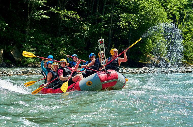 rafting u Hrvatskoj
